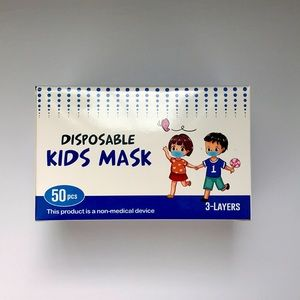 Brand new 50 disposable Kids Mask